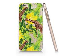 Giraffe Clear Transparent Plastic Phone Case for Iphone 6 6s_ SUPERTRAMPshop (VAS229) (VAS379) SUPERTRAMPshop
