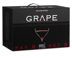 Riedel Grape Cabernet Gift Set, Pay 6-Get 8 #williamssonoma