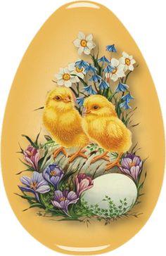 Osterküken und Blumen - Easter chicks and flowers Osterküken und Blumen Easter Art, Easter Crafts, Easter Eggs, Easter Decor, Easter Pictures, Diy Ostern, Easter Parade, Easter Printables, Egg Art