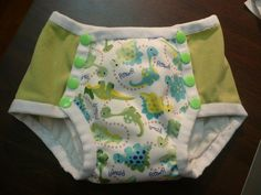 I knew as soon as I started sewing cloth diapers that I would be just as excited to sew cloth trainers when the time came--always somethin. Training Pants Pattern, Pull Ups Training Pants, Cloth Training Pants, Toddler Training Pants, Potty Training Pants, Running Training, Training Tips, Diy Diapers, Cloth Diapers