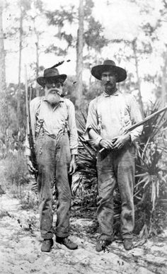 Portrait of James Aaron Whidden with son Henry Jackson Whidden in Polk County,Florida, Places In Florida, Old Florida, Vintage Florida, State Of Florida, Florida Travel, Vintage Pictures, Old Pictures, Old Photos, Vintage Images