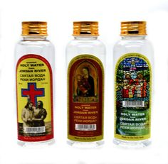 Lot of 3 Authentic Holy Water bottles From the Jordan River the Holy Land Lightly Scented with a Gentle Scent of Holy Land Flowers to Eliminate Staleness and to Keep Freshness. 100 ml 3.4 fl.oz each. * Want additional info? Click on the image.