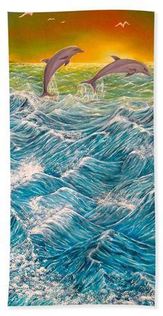 Beautiful Bathroom Hand Towels lake fantasy hand towel for salefaye anastasopoulou | product
