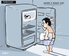Calor de Teresina - Charge do Izanio - CidadeVerde.com ::