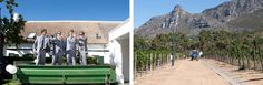 London-themed Wedding at Steenberg Estate by Garyth Bevan Golf Estate, Mount Rushmore, Real Weddings, Backdrops, Wedding Venues, Reception, London, Mountains, Stylish