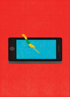 Oliver Munday: Immersion in phone content: WIRED.