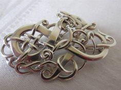 Ola Gorie Scottish Silver Alskog Brooch