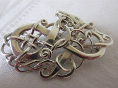 Ola Gorie Scottish Silver Alskog Brooch