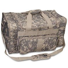370a9400d Bagiva Everest Digital Camo 27 Duffel Bag Travel Gear Luggage Sports Gym Bag  CamouflageOne Size *** For more information, visit image link.