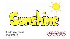 Friday Focus 18/09/20 - Sunshine - Little Hearts, Big Love