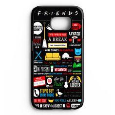 Friends Tv Show Samsung Galaxy S6 Edge Plus Case