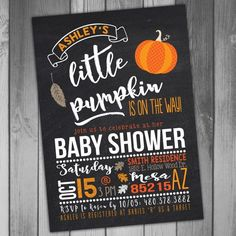 Hey, I found this really awesome Etsy listing at https://www.etsy.com/listing/467438941/baby-shower-halloween-baby-shower-fall
