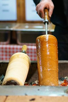 Chimney cakes and a photo tour of the yummy food and treats at the Budapest Christmas Market.