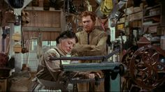 """Seven Brides For Seven Brothers"" (1954) - Adam Pontipee comes to town for a bride."