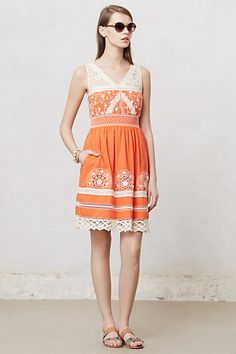 Aniko Lace Dress #anthropologie