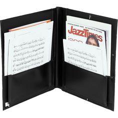 Protec Big Band Music Folder Black