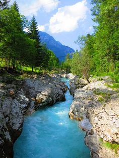 Bovec, Slovenia, Soča River