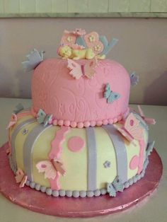 Captivating Butterfly Cake · Butterfly Baby ShowerBeautiful ...