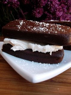Hostess has yet to bring back the SuzyQ. I'll have to try to make my own. Chris Miller, this is for you old friend.