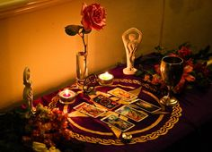 We all gathered around the fire, with the Yule altar set and gathered to honor the longest night of the year. Description from ethony.com. I searched for this on bing.com/images
