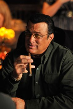 Steven Seagal Gets 'Maximum Conviction' With Steve Austin & Maybe Expendables Famous Cigars, Action Movie Stars, Action Movies, Steven Seagal, Delta Force, Star Wars, Steve Austin, The Expendables, Martial Artist