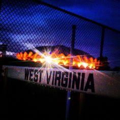 love this #WVU Coliseum