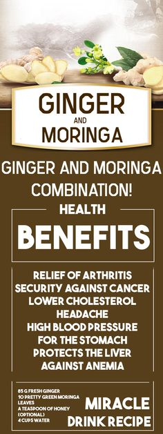 For years, moringa and ginger have been used to fight many illness and have always yielded exceptional results, and recent studies have actually revealed that if these two ingredients are used together and in the right portions, their effect is much faster and more effective. PROPERTIES OF MORINGA: The Moringa is also known as the Continue Reading