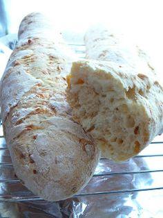 Sütikuckó: Hagymás sajtos kenyér