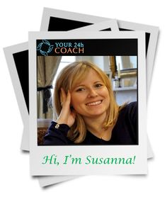 A warm welcome to Your24hCoach's Business and Career Coach, Susanna! Are you looking for clarity in your life? Are you feeling stuck or not sure what you should do next? Susana's Positive psychology coaching will help you find focus and clarity by letting you discover what's important to your happiness, find out how by speaking to Susanna today here - www.Your24hCoach.com