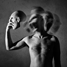 'I allways wanted to unmask the inner soul and show the real nature of the man entity...' Photography by Aurelio Monge.