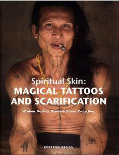 This is a photographic masterwork in two parts exploring the secret world of magical tattooing and scarification across the tribal world. Based on one decade of tattoo anthropologist Dr Lars Krutak's fieldwork among animistic and shamanic societies of Asia, Africa, the Americas, and Melanesia, this book journeys into highly sacred territory to reveal how people utilise ritual body modification to enhance their access to the supernatural. Visit to find out more!