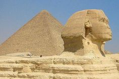 Visit the pyramids and the sphinx