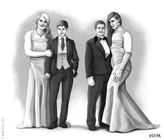 Formal figures by Eves-Rib on DeviantArt French Maid Dress, Male To Female Transgender, Trans Art, Womanless Beauty Pageant, Feminized Boys, Two Girls, Wedding Portraits, Crossdressers, Feminism