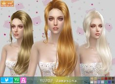 Sims 4 CC's - The Best: Hair by Newsea