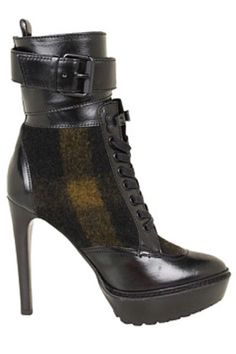 Kicking It: Shop Fall 2012's Top Trends in Boots - The Remix - Burberry-cute