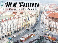 If your visiting Prague, stopping by the Old Town area is a must. You can find the Charles Bridge, Churches, the market, & the Astronomical Clock!