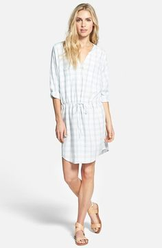Soft+Joie+'Dayle'+Plaid+Dress+available+at+#Nordstrom