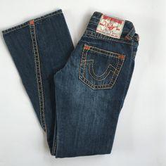 True Religion - Size 27 True Religion Jeans size 27 with a 32 inch inseam in almost perfect condition worn once washed once True Religion Jeans Straight Leg