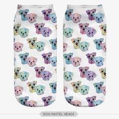 Animal Prints Full 3D Print Socks - Multi Colors and Styles