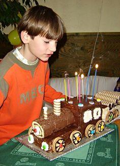 Birthday Candles, Cake, Desserts, Food, Tailgate Desserts, Deserts, Kuchen, Essen, Postres