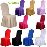 Item Type:Dining Chair Covers   Material:Spandex/Polyester   Application:Weddings Decoration,Dining