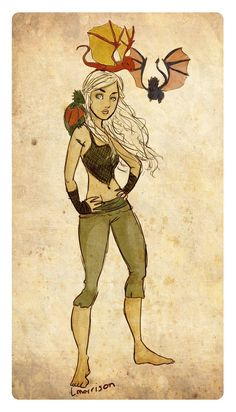 Daenerys Targaryen - Game of Thrones - lyles.deviantart.com