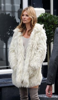 Kate Moss looked especially sexy as she filmed for a new project in Central London.