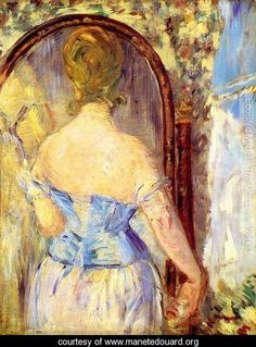 Before the Mirror - Edouard Manet - www.manetedouard.org