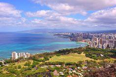 View of Waikiki from Diamond Head