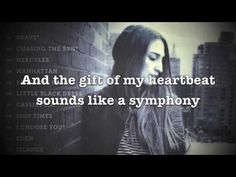 "Sara Bareilles - Chasing the Sun Lyrics (HD) - YouTube   "" You said remember the life is not meant to be wasted. We can always be chasing the sun. So fill up your lungs and just run !"""