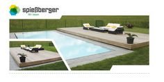 Opens and closes automatically. Outdoor Pool, Outdoor Decor, Terrace, Pets, Models, Design, Home Decor, Wood Stone, Plants