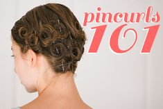 Hair Parlor // Pin-Curls 101 #tutorial #pincurls by Jessica Boyer of the Boyer Family Singers
