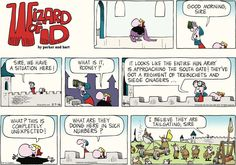 ❤ =^..^= ❤    Wizard of Id Comic Strip on GoComics.com