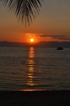 Sunset on Lake Malawi - I've been here!!!